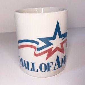 Vintage 90's Mall of America Souvenir Coffee Mug